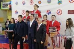 Мясникова Анжелика 1 место, 48 кг