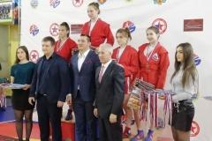 Горбунова Анастасия 2 место, 56 кг
