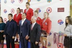 Наумова Анастасия 2 место, 65 кг
