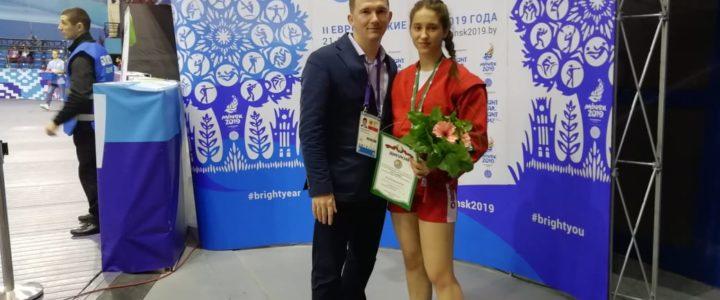 Сергиевская Виктория бронзовый призер международного турнира на призы президента республики Беларусь