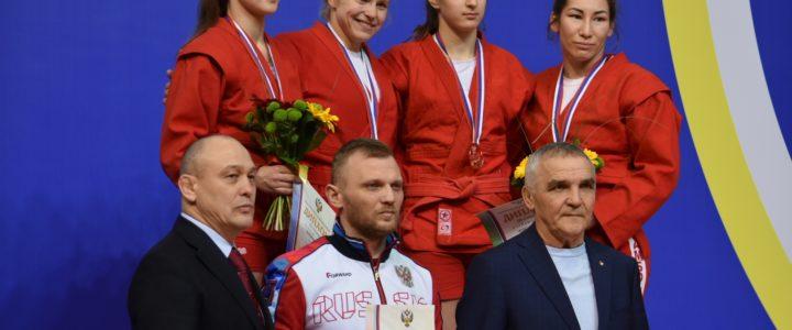Валерия Анисимова серебряный призер чемпионата России