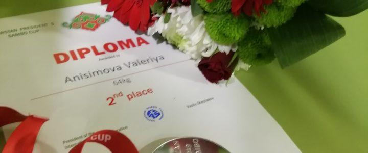 Очередной международный успех Валерии Анисимовой